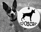 Rat Terrier Personalized Jewelry