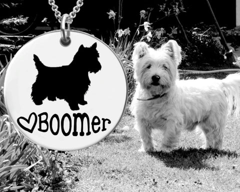 West Highland White Terrier Personalized Jewelry | Westie