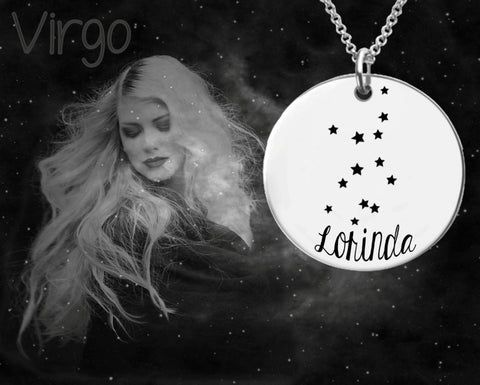 Virgo Constellation | Zodiac Necklace