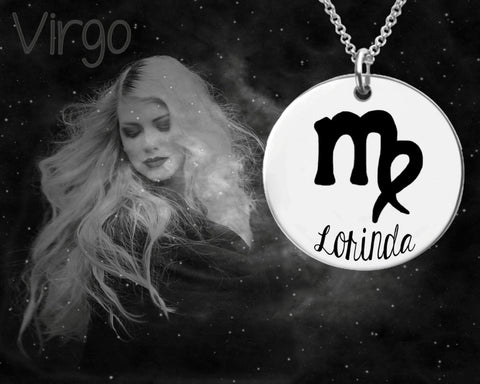 Virgo Zodiac Jewelry