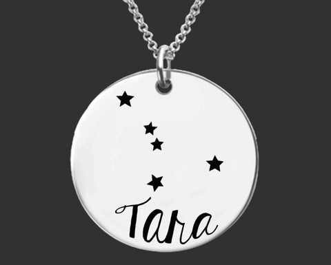 Cancer Zodiac Constellation Personalized Jewelry
