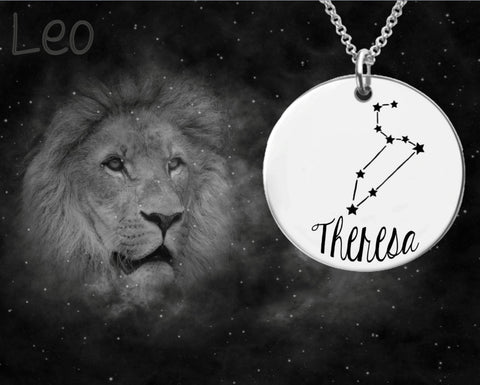 Leo Constellation Zodiac Jewelry