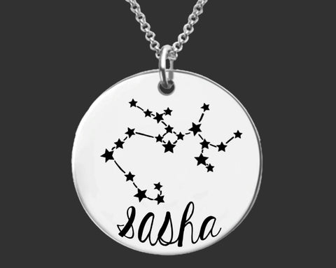Sagittarius Constellation Zodiac Necklace