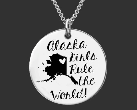 Alaska Girls Necklace | Alaska State