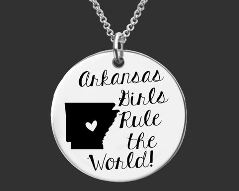 Arkansas Girls Necklace | Arkansas State