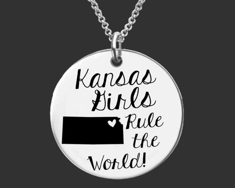 Kansas Girls Necklace | Kansas State