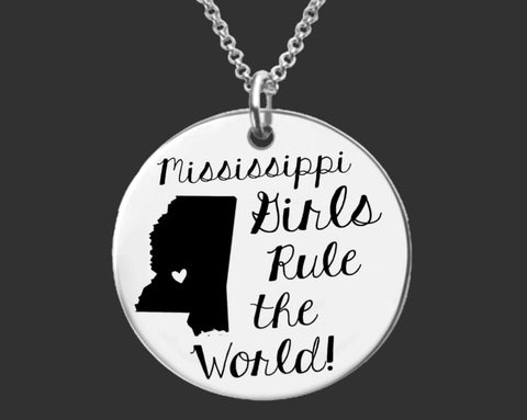 Mississippi Girls Necklace | Mississippi State