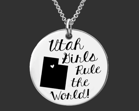 Utah Girls Necklace | Utah State