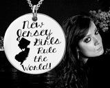 New Jersey Girls Necklace | New Jersey State