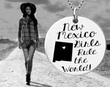 New Mexico Girls Necklace | New Mexico State