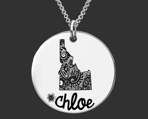 Idaho Personalized Jewelry | Idaho State