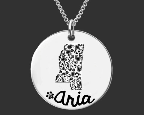 Mississippi Personalized Jewelry | Mississippi State