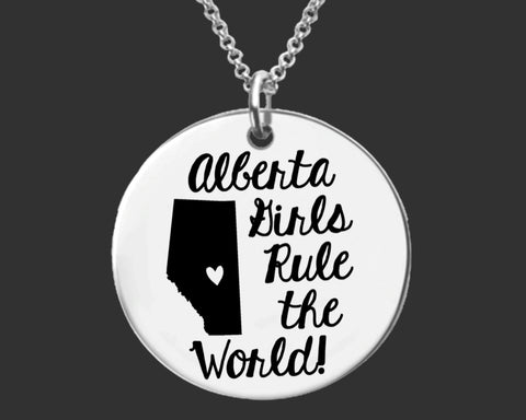 Alberta Girls Necklace