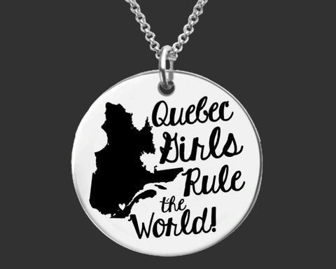 Quebec Girls Necklace | Quebec Canada