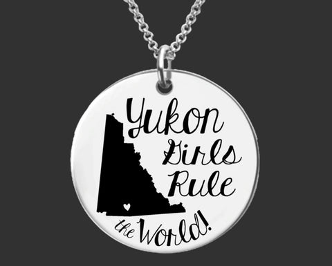 Yukon Girls Necklace | Yukon Canada