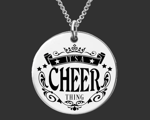 It's a Cheer Thing | Cheerleader Necklace