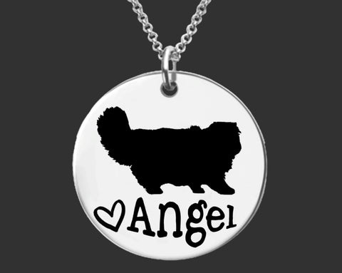 Persian Cat Personalized Jewelry