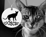 Abyssinian Cat Necklace
