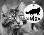 Maine Coon Cat Personalized Jewelry