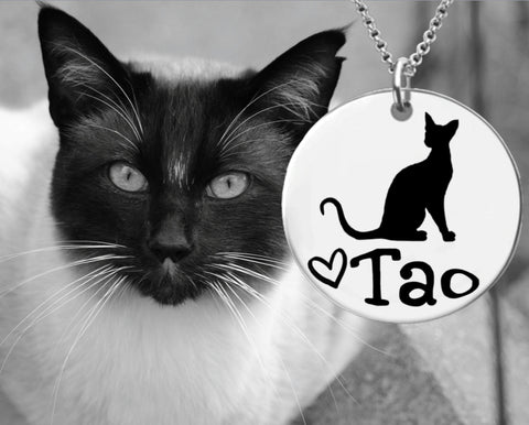 Siamese Cat Personalized Jewelry