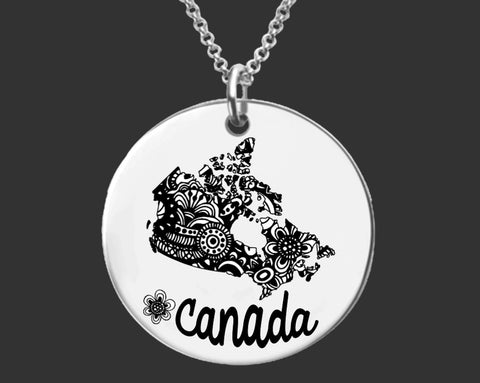 Canada Personalized Necklace