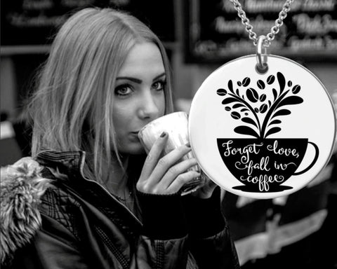 Coffee Lover Necklace