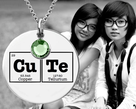 Cute Necklace | Periodic Tables of Elements