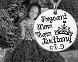 Pageant Mom Personalized Necklace