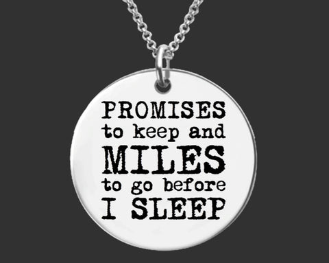 Promises To Keep Necklace
