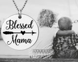 Blessed Mama Necklace | Gift for Mom