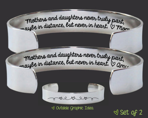 Mothers and Daughters Bracelet Set | Mother's Day