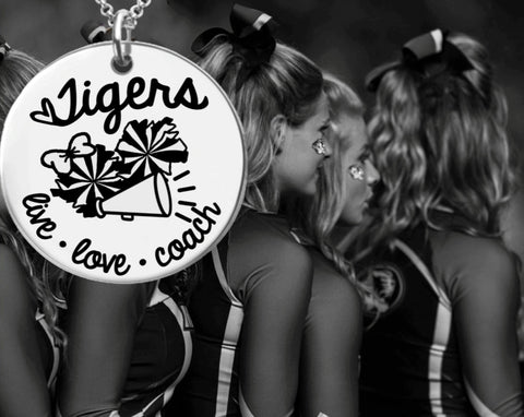 Cheer Coach Personalized Necklace | Coach Gift