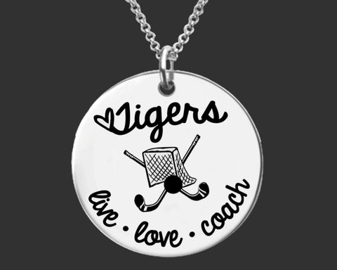 Field Hockey Coach Personalized Necklace | Coach Gift