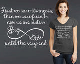Big Little Sorority T-shirt | Sorority Sister Gift
