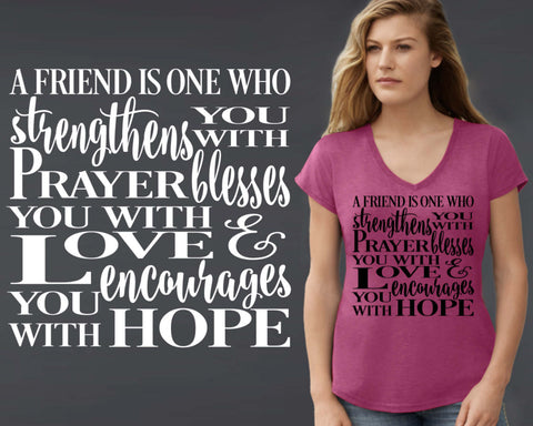 A Friend Is T-shirt | Friend Gift