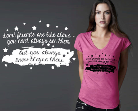 Good Friends Are Like Stars T-shirt