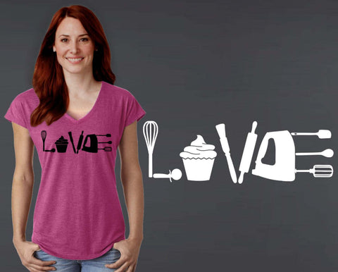 Baking Love T-shirt | Gift for Baker