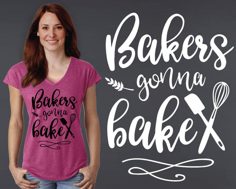Bakers Gonna Bake T-shirt | Gift for Baker