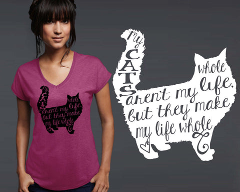 Cats Aren't My Whole Life T-shirt