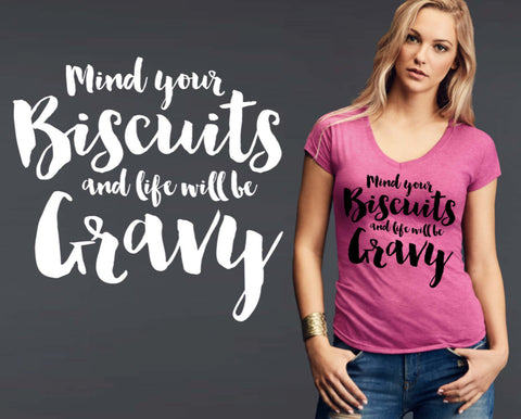 Biscuits and Gravy T-shirt | Funny T shirt