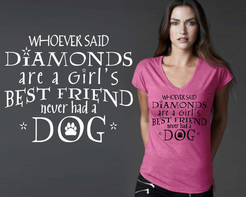 A Girl's Best Friend T-shirt