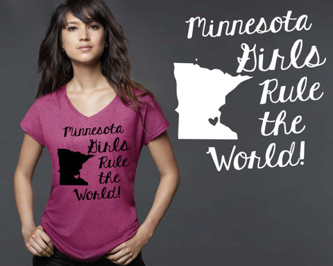 Minnesota Girls T-shirt | Minnesota State