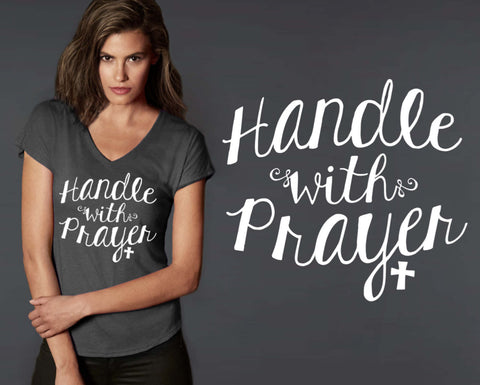 Handle With Prayer T-shirt | Christian T shirt