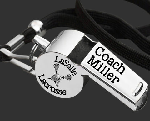 Lacrosse Coach | Personalized Whistle