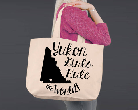 Yukon | Personalized Canvas Tote Bag