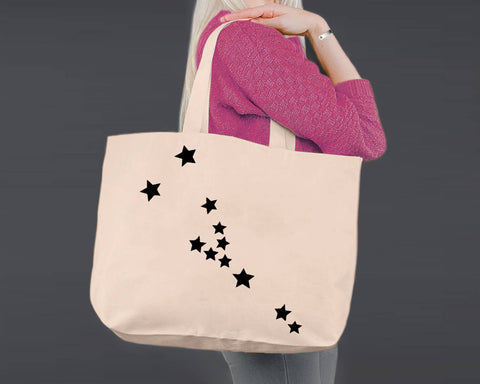 Taurus | Personalized Canvas Tote Bag