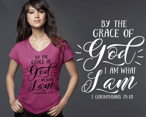 By the Grace of God T-shirt | Christian T shirts