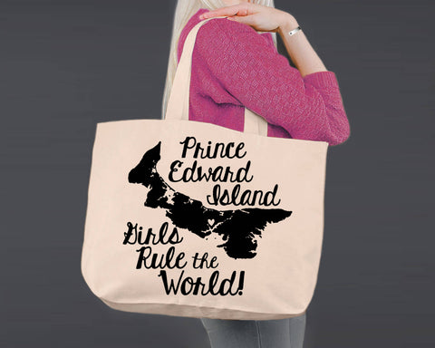 Price Edward Island | Personalized Canvas Tote Bag