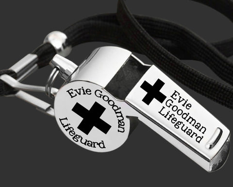 Lifeguard Gift | Personalized Whistle