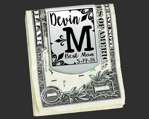 Personalized Money Clips | Groomsmen Gifts | Best Man Gifts